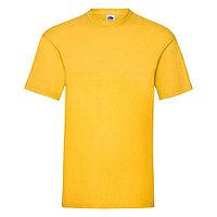 """Футболка мужская """"Valueweight T"""", солнечно-желтый_M, 100% х/б, 165 г/м2, фото 1"""