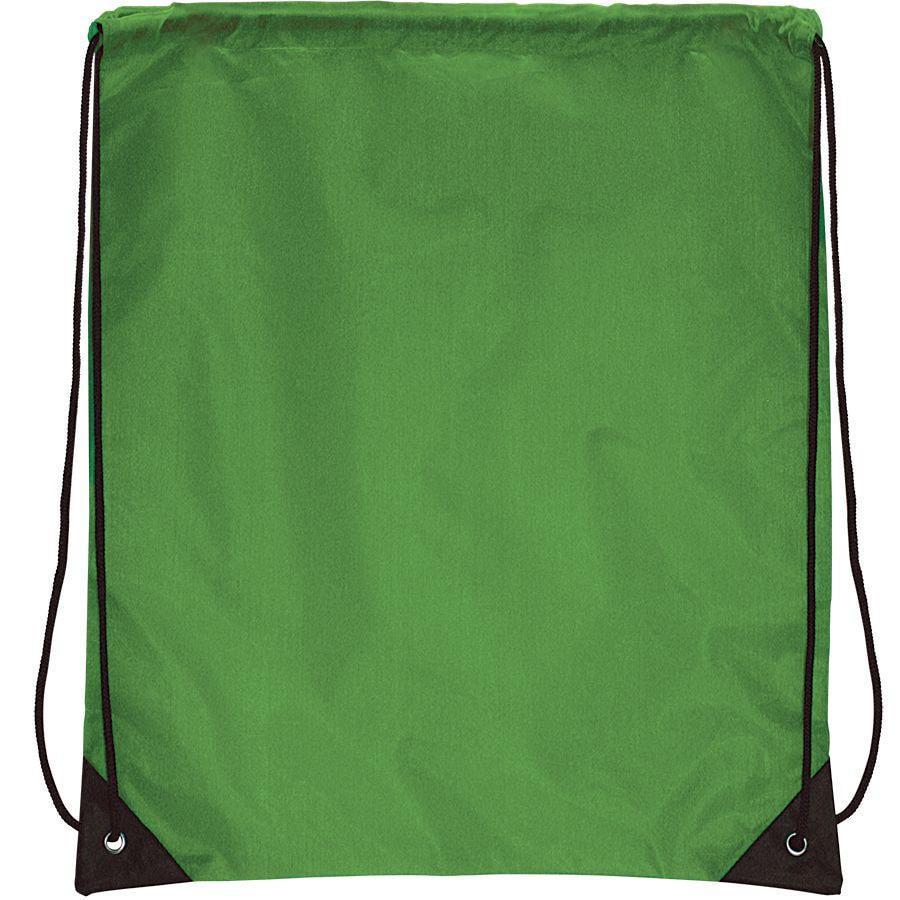 "Рюкзак ""Promo""; зеленый; 33х38,5х1см; полиэстер"