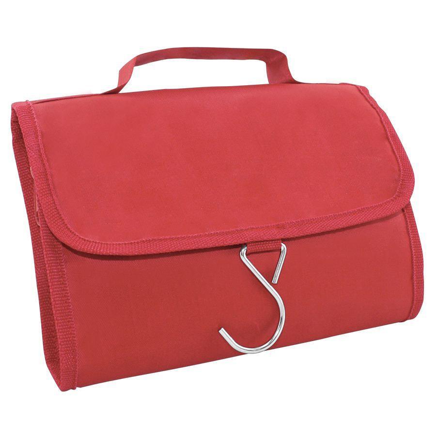 """Несессер дорожный """"Comfort""""; красный; 21,5х17,5х2 см; полиэстер"""