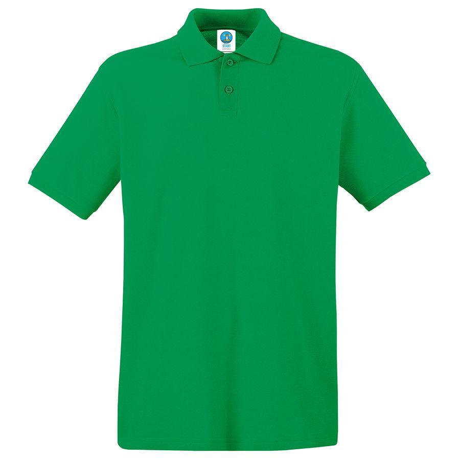 "Поло ""Apollo"", зеленый_L,  100% хлопок, 180 г/м2"