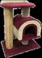 Комплекс КАМЕЯ-4 (дом на ножке, большая площадка, крупная когтеточка) 62*40*80 PerseiLine КК-23