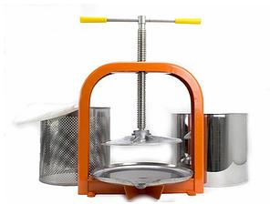 Пресс винтовой для отжима сока ЛАН 10 л, фото 2