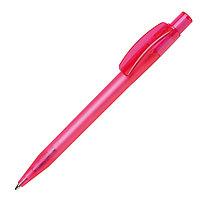 Ручка шариковая PIXEL FROST, розовый, пластик