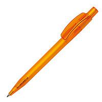 Ручка шариковая PIXEL FROST, оранжевый, пластик