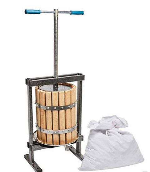 Пресс для сока Вилен 20 литров (Дубовый кожух)