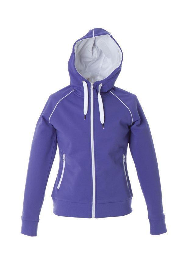 """Толстовка женская """"SIVIGLIA"""" ,фиолетовый, 2XL, 80% полиэстер, 20% хлопок, 320 г/м2"""