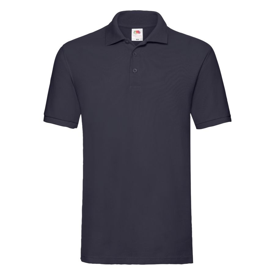"""Поло """"Premium Polo"""", глубокий темно-синий_M, 100% х/б, 180 г/м2"""