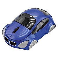 """Мышь компьютерная оптическая """"Автомобиль""""; синий; 10,4х6,4х3,7см; пластик"""