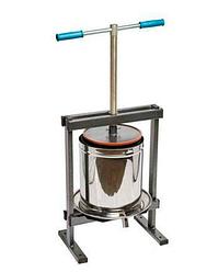 Пресс для сока винтовой Вилен 15 литров (Нержавейка)