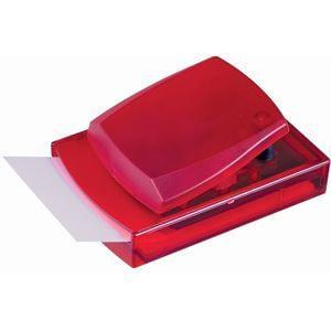 Диспенсер для записей; красный; 12х8,3х5,5 см; пластик
