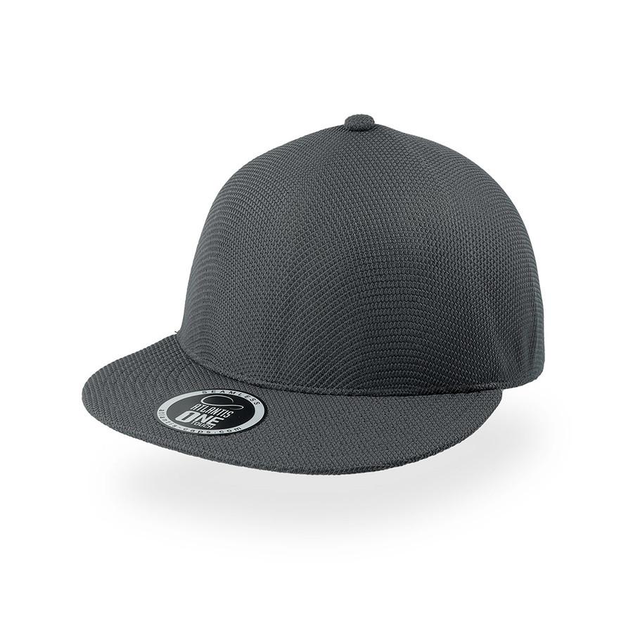 """Бейсболка """"SNAP-ONE"""", без панелей и швов, серый, 100% полиэстер , 230 г/м2"""