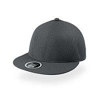 """Бейсболка """"SNAP-ONE"""", без панелей и швов, серый, 100% полиэстер , 230 г/м2, фото 1"""