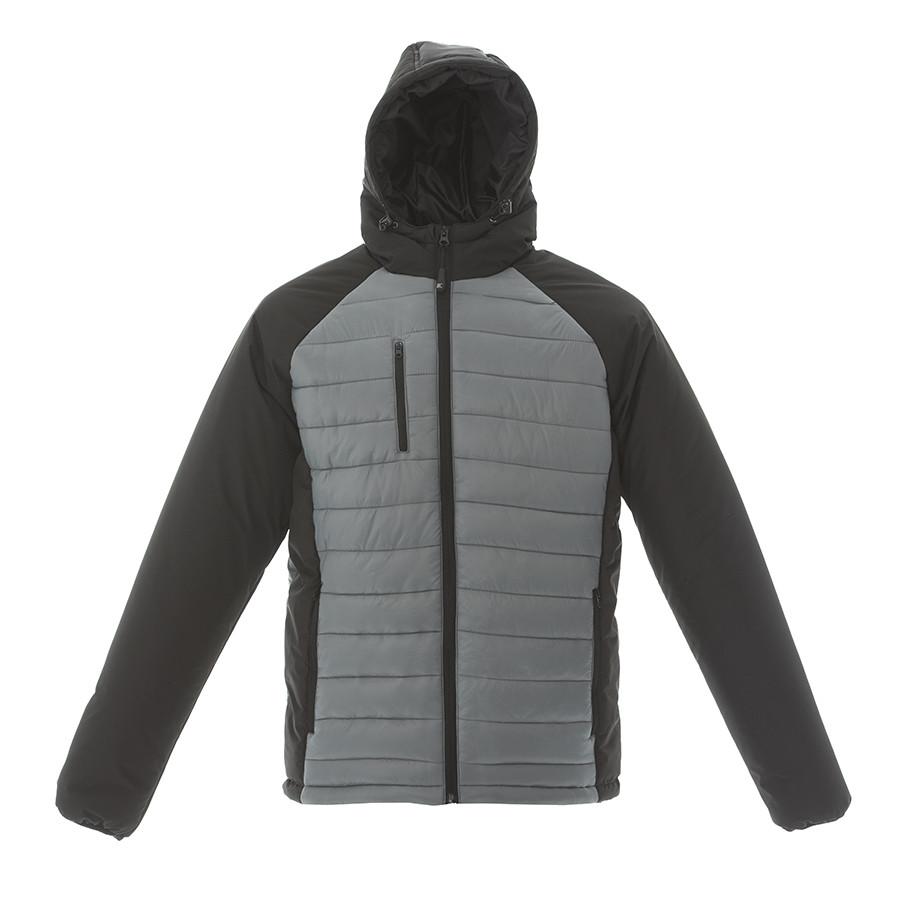 """Куртка мужская """"TIBET"""",серый/чёрный, M,100%  нейлон, 200  г/м2"""