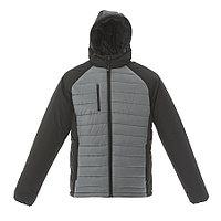 """Куртка мужская """"TIBET"""",серый/чёрный, M,100%  нейлон, 200  г/м2, фото 1"""