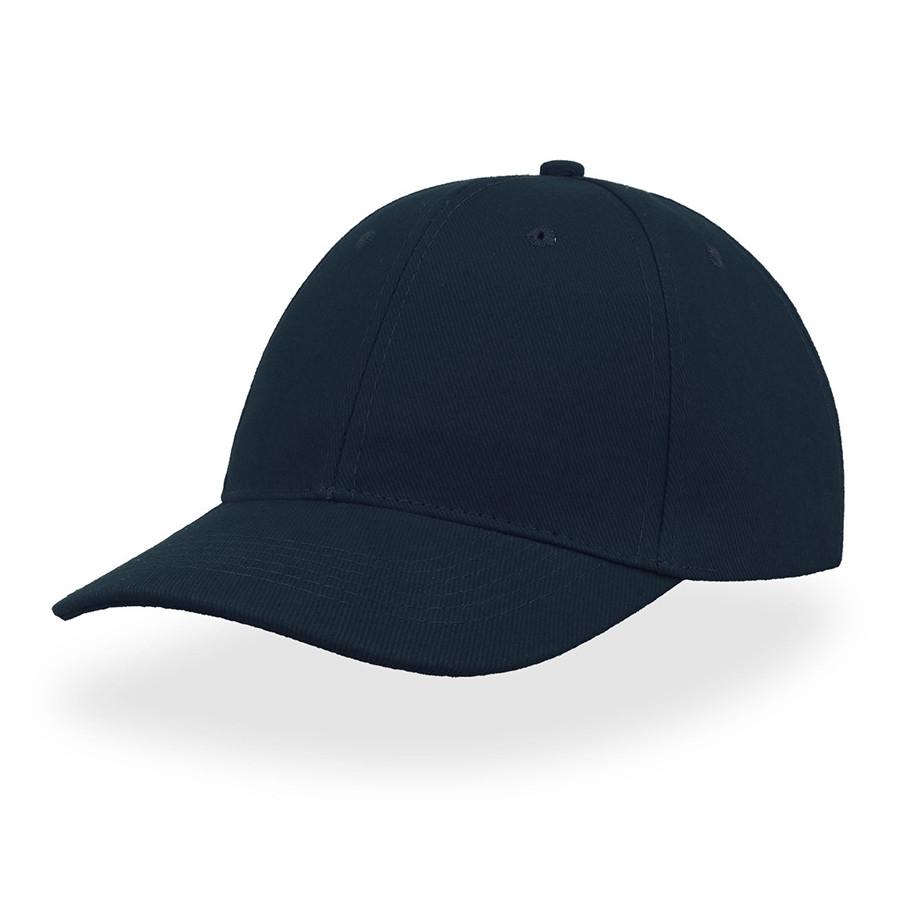 """Бейсболка """"LIBERTY SIX BUCKLE"""", 6 клиньев, металлическая застежка, т.синий, 100% хлопок, 250 г/м2"""