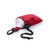 Дождевик DOMIN в чехле, 9х11х5см, красный, полиэтилен, полиэстер, фото 1