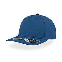 """Бейсболка """"RAY"""", 5 клиньев, застежка на липучке, ярко-синий, 100 % полиэстер, 193 г/м2, фото 1"""
