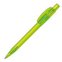 Ручка шариковая PIXEL FROST, зеленое яблоко, пластик
