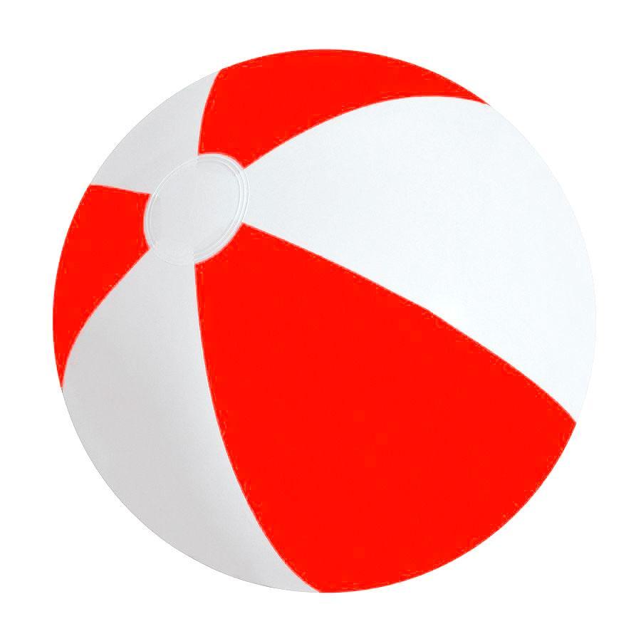 """Мяч надувной """"ЗЕБРА"""",  красный, 45 см, ПВХ"""