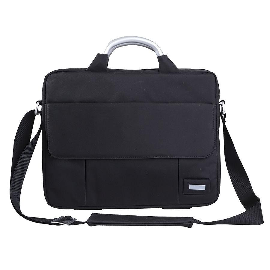 """Конференц-сумка """"BUSINESS TRIP"""" c шильдом; черный; 36х6х28 см; микрофибра"""