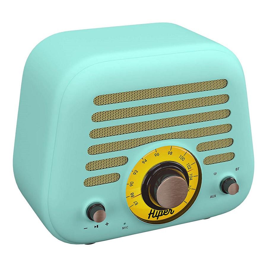 Колонка беспроводная RETRO L, цвет голубой