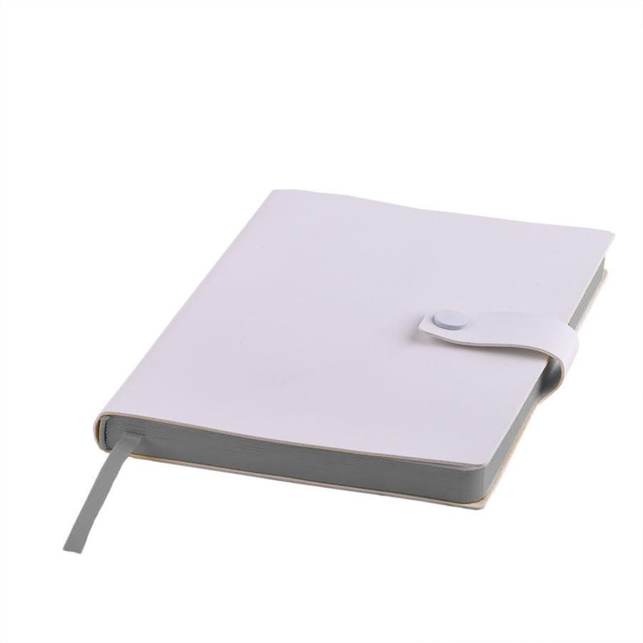 Ежедневник недатированный Stellar, А5, белый, кремовый блок, с серым обрезом