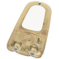 Подсветка для мобильного телефона на липучке с сигналом входящего вызова; желтый; 6,15х3х0,6 см; пластик