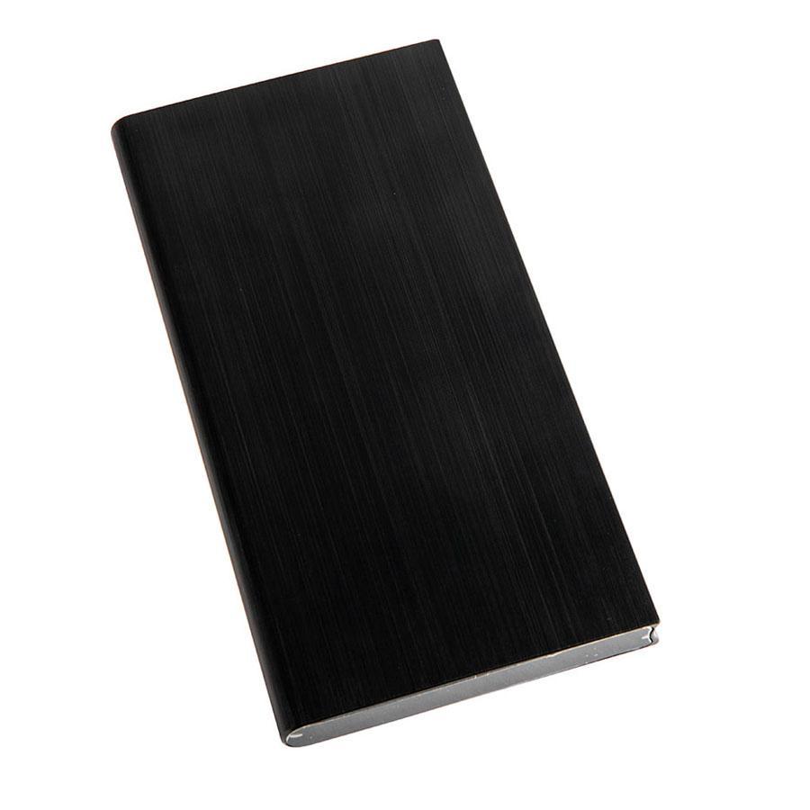 """Универсальный аккумулятор """"Energy"""" (8000 mAh), черное, 15,3х7,6х0,9см, металл, шт"""