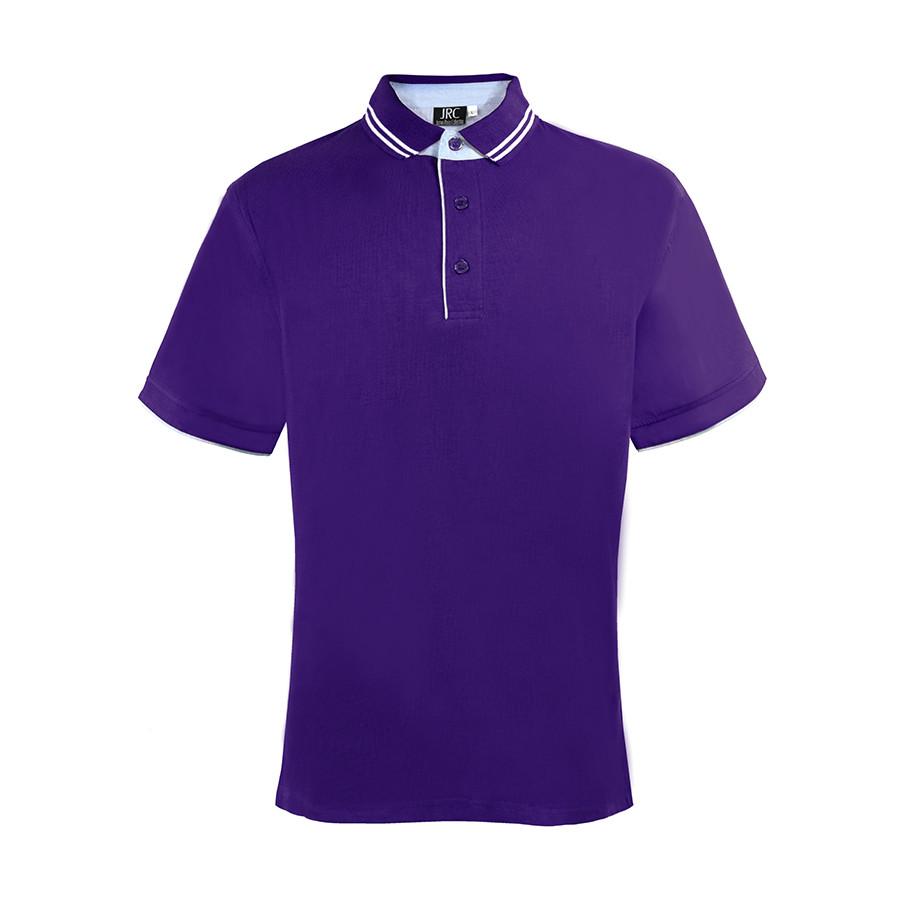 """Поло """"RODI MAN"""", фиолетовый_ S, 100% х/б, 180г/м2"""