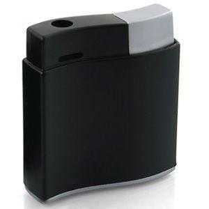 """Зажигалка """"Волна""""; черный; 3,1х1х4,1 см; металл. Зажигалка поставляется без газа."""