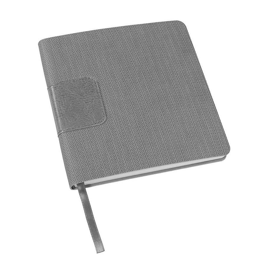 Ежедневник недатированный Scotty, А5-, серый, кремовый блок, без обреза - фото 1
