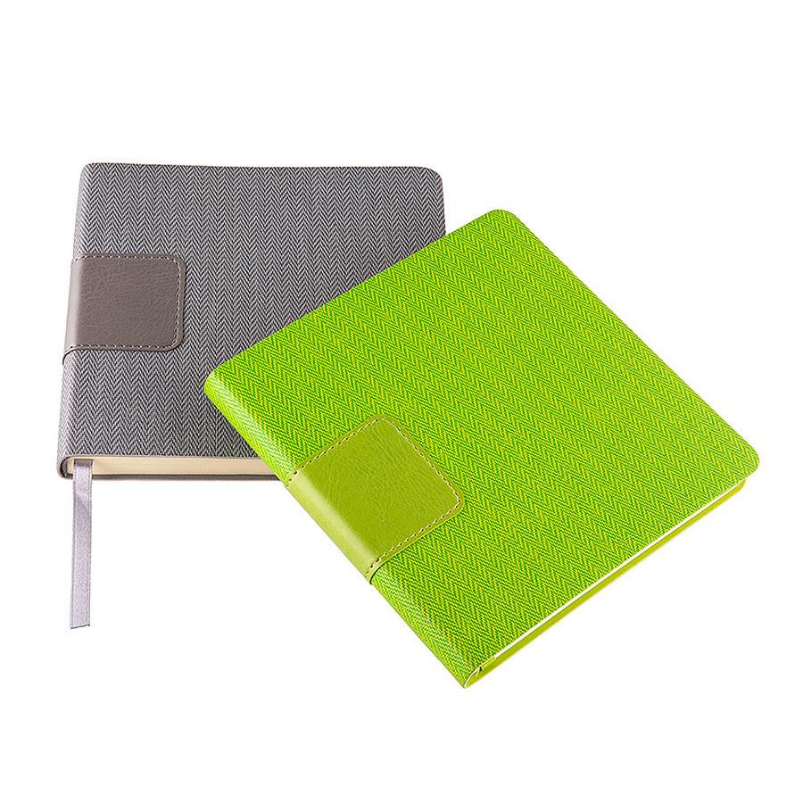 Ежедневник недатированный Scotty, А5-, серый, кремовый блок, без обреза - фото 5