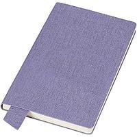 "Бизнес-блокнот А5  ""Provence"", сиреневый, мягкая обложка, в клетку"