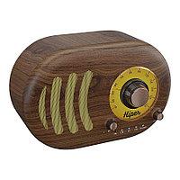 Колонка беспроводная RETRO S, цвет коричневый , фото 1