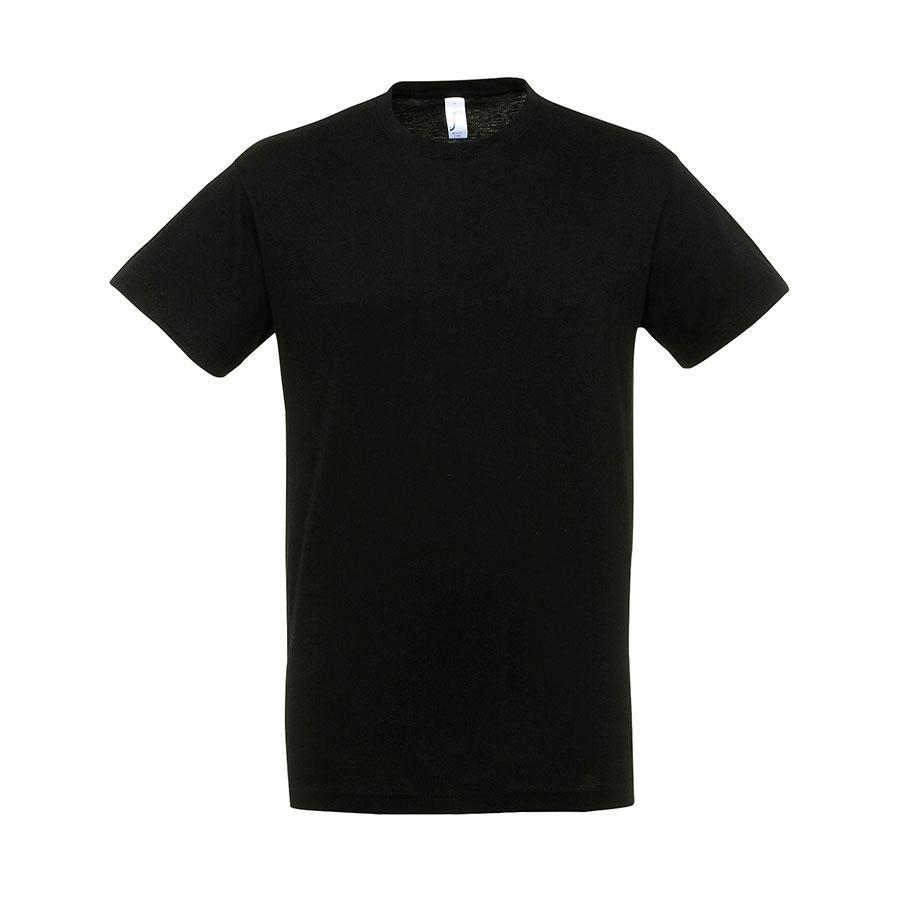 "Футболка ""Regent"", черный_L, 100% х/б, 150 г/м2"