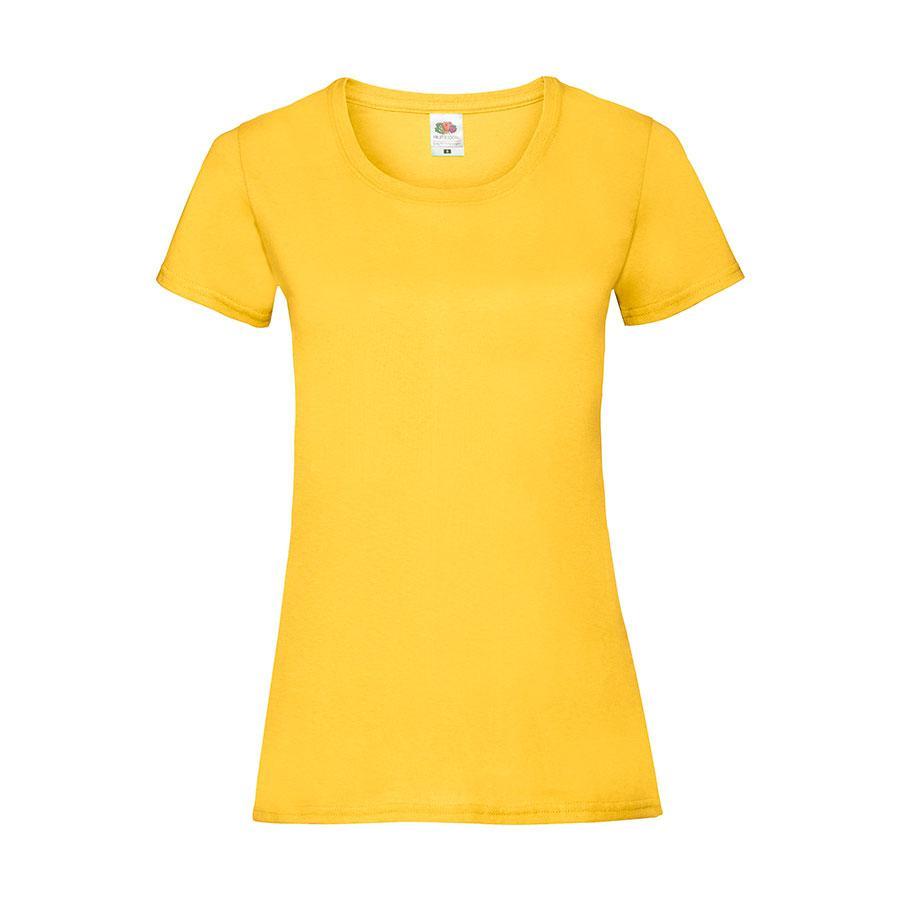 """Футболка """"Lady-Fit Valueweight T"""", солнечно-желтый_XS, 100% хлопок, 160 г/м2"""