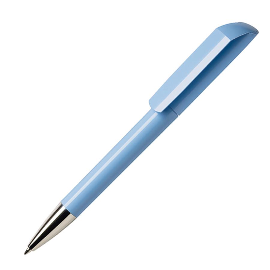 Ручка шариковая FLOW, светло-голубой, пластик