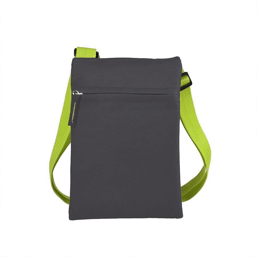 """Сумка для документов """"ACTIVE"""" с карманом на молнии,  зеленый, 18х24 см, полиестер"""