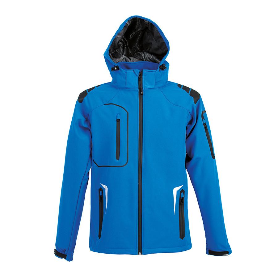 "Куртка мужская ""ARTIC"", ярко-синий, XL, 97% полиэстер, 3% эластан,  320 г/м2"