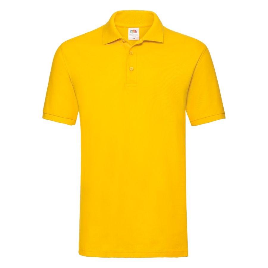 """Поло """"Premium Polo"""", солнечно-желтый_M, 100% х/б, 180 г/м2"""