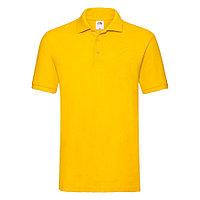 "Поло ""Premium Polo"", солнечно-желтый_M, 100% х/б, 180 г/м2, фото 1"