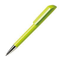 Ручка шариковая FLOW, зеленое яблоко, пластик