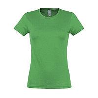 """Футболка """"Miss"""", ярко-зеленый_2XL, 100% х/б, 150 г/м2, фото 1"""