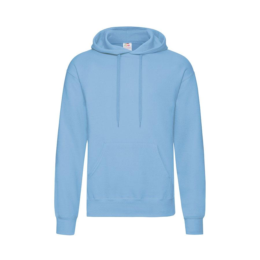 "Толстовка мужская ""Hooded Sweat"", небесно-голубой_XL, 80% х/б, 20% п/э, 280 г/м2"