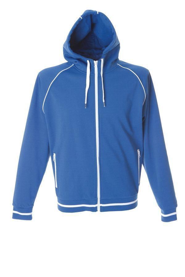"Толстовка мужская ""COIMBRA"" , ярко-синий, M, 80% полиэстер, 20% хлопок, 320 г/м2"