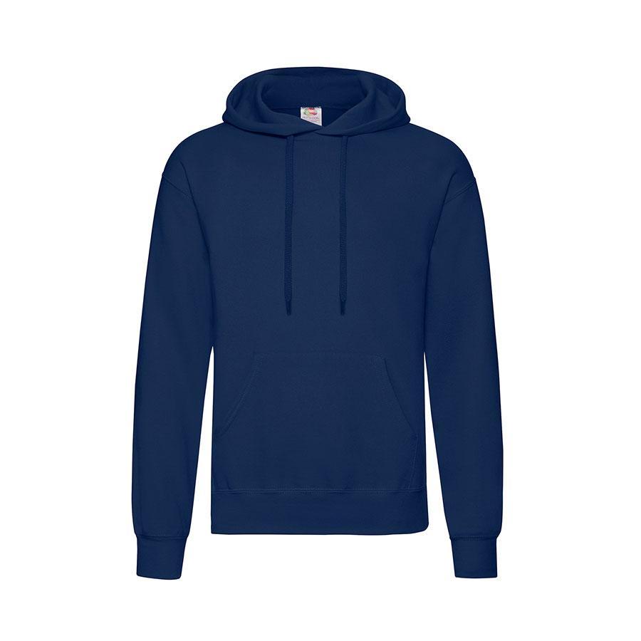"Толстовка мужская ""Hooded Sweat"", темно-синий_XL, 80% х/б, 20% п/э, 280 г/м2"