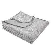 "Плед ""Yelix"", флис 280 гр/м2, размер 120*160 см, цвет серый меланж"