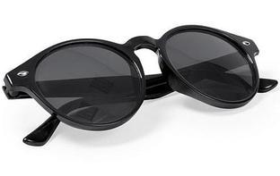 Солнцезащитные очки NIXTU, черный, пластик