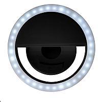 Подсветка для селфи SPOTLIGHT, 8,5х 3,3 см, черный, пластик, фото 1