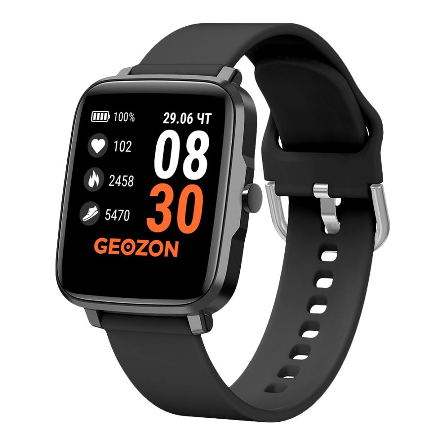 Фитнес часы GEOZON STAYER с функцией термометра